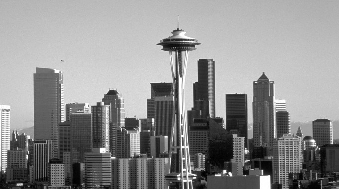 Seattle Skyline Needle 102008