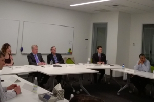 For Mayor's first industry-specific roundtable, he chooses startup and tech leaders